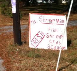The Shrimp Man