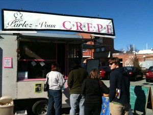 Crepe Truck at Fifth Season Parking Lot