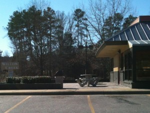 Outdoor Dining- Burger King