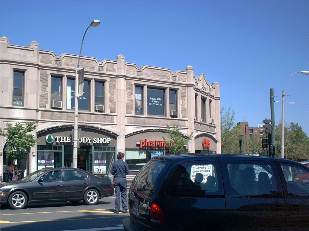 CVS Goes Urban - Old Building