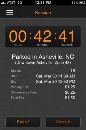 Parking Countdown