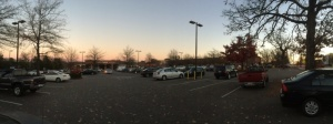 Carr Mill Parking Lot from Greensboro St Side