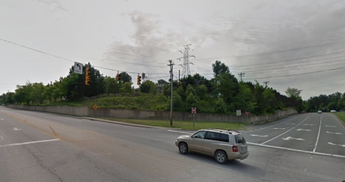 Proposed Mural Location Near Jones Ferry Rd