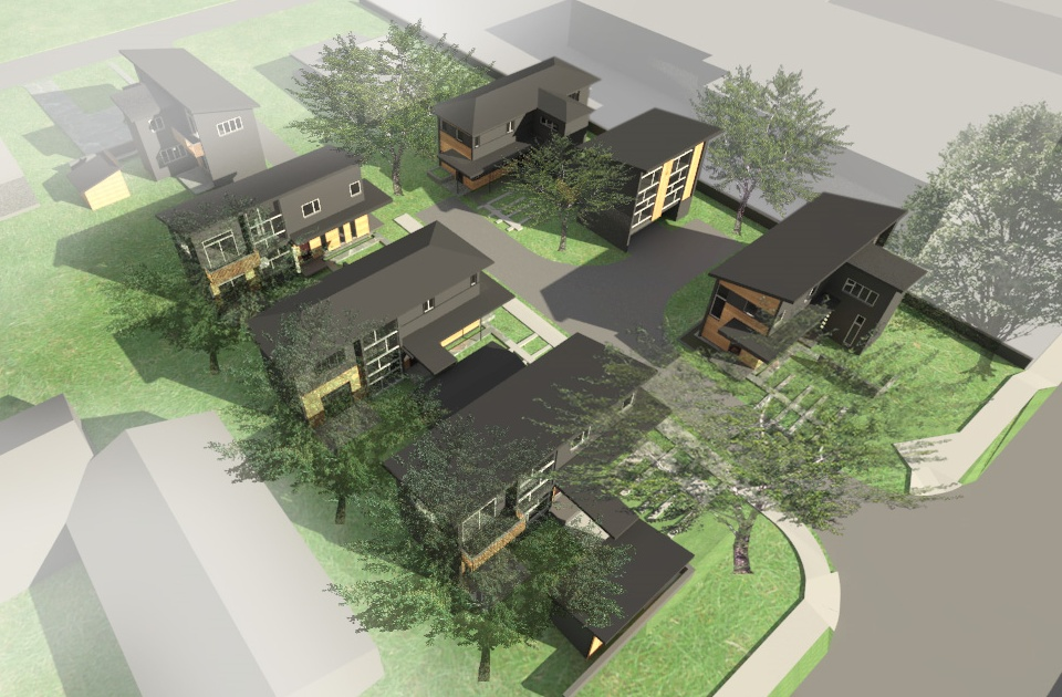 "Chapel Hill News Describes Very Typical Carrboro Infill Project as ""Unusual Density"""