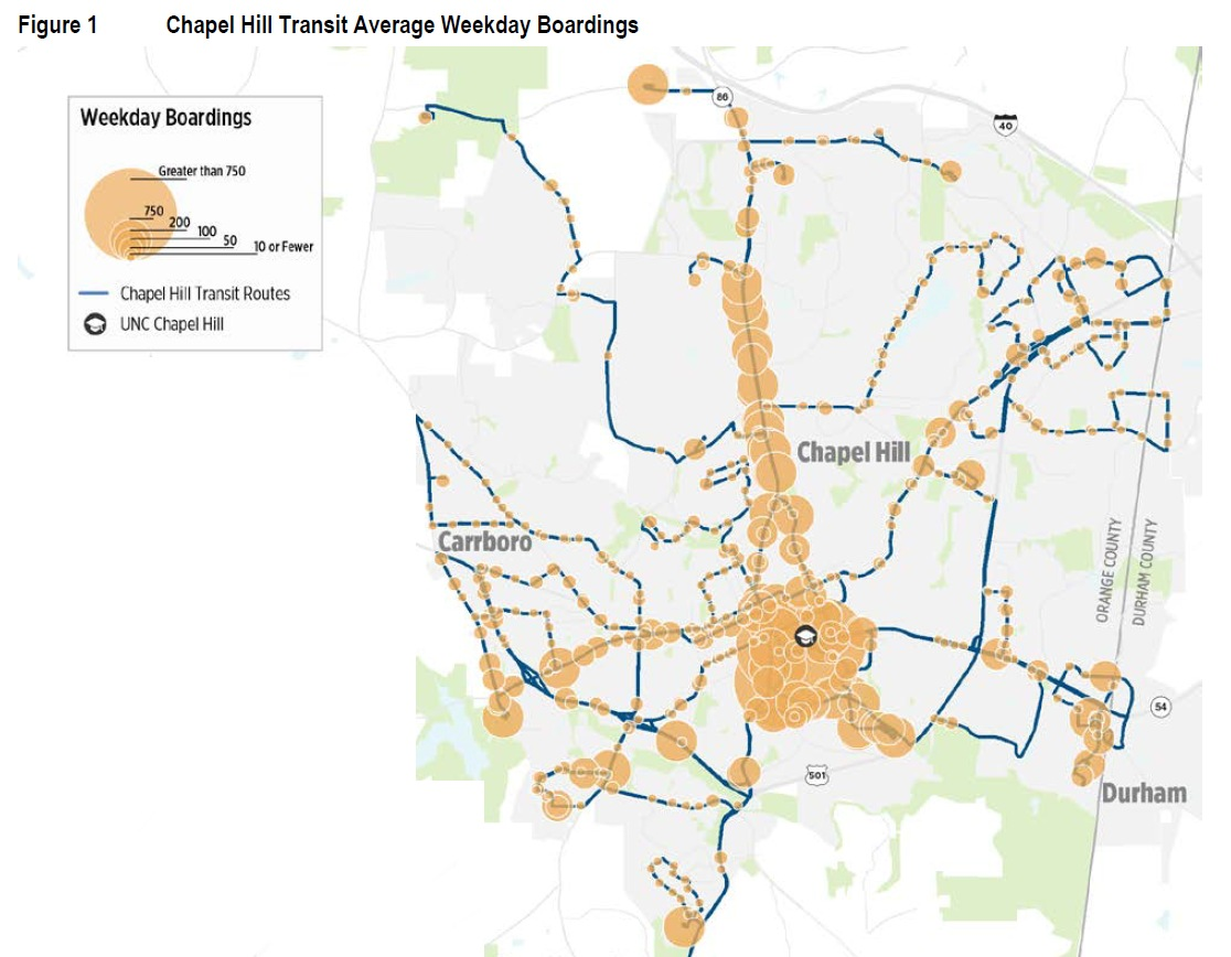 chapel hill transit proposes new system maps – scenario 3 is the