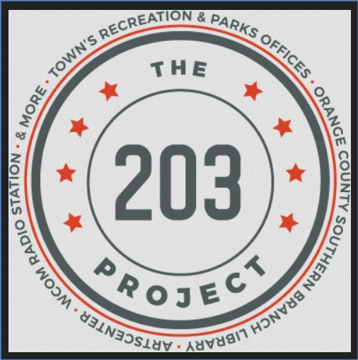 Meetings on The 203 Project – Library & ArtsCenter Space – TODAY!